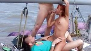 MMF on a boat looks very sexual and arousing in a time this babe sugar-plum engrossing