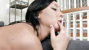 Lusty skank is wicked pierced